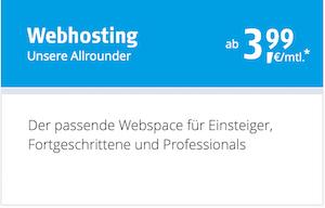Alfahosting Gutschein für Webhosting