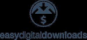 Easy Digital Downloads WordPress Online-Shop Logo