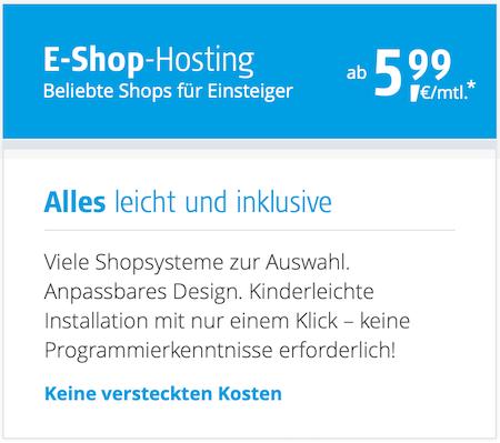 Mit dem Alfahosting Gutscheincode bei eShop Hosting sparen