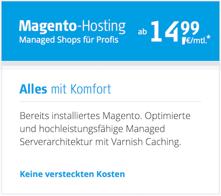 Mit dem Alfahosting Gutscheincode bei eShop Magento Hosting sparen