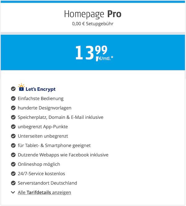 Alfahosting Gutscheincode Homepage Pro günstig