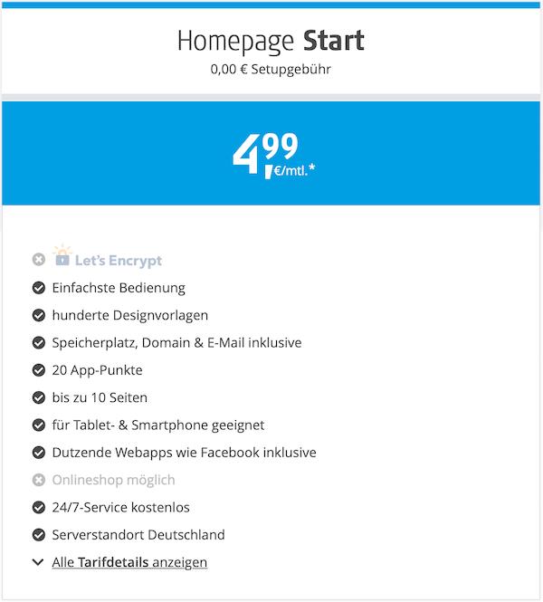 Alfahosting Gutscheincode für Homepage Start günstig