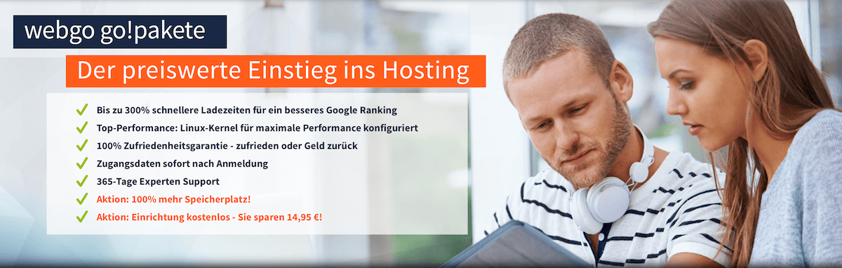 webgo Gutscheincode go!pakete
