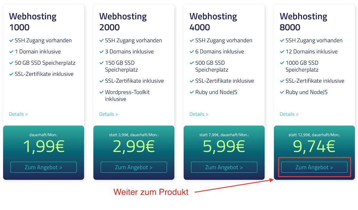 Netcup Gutscheincode für alle Produkt