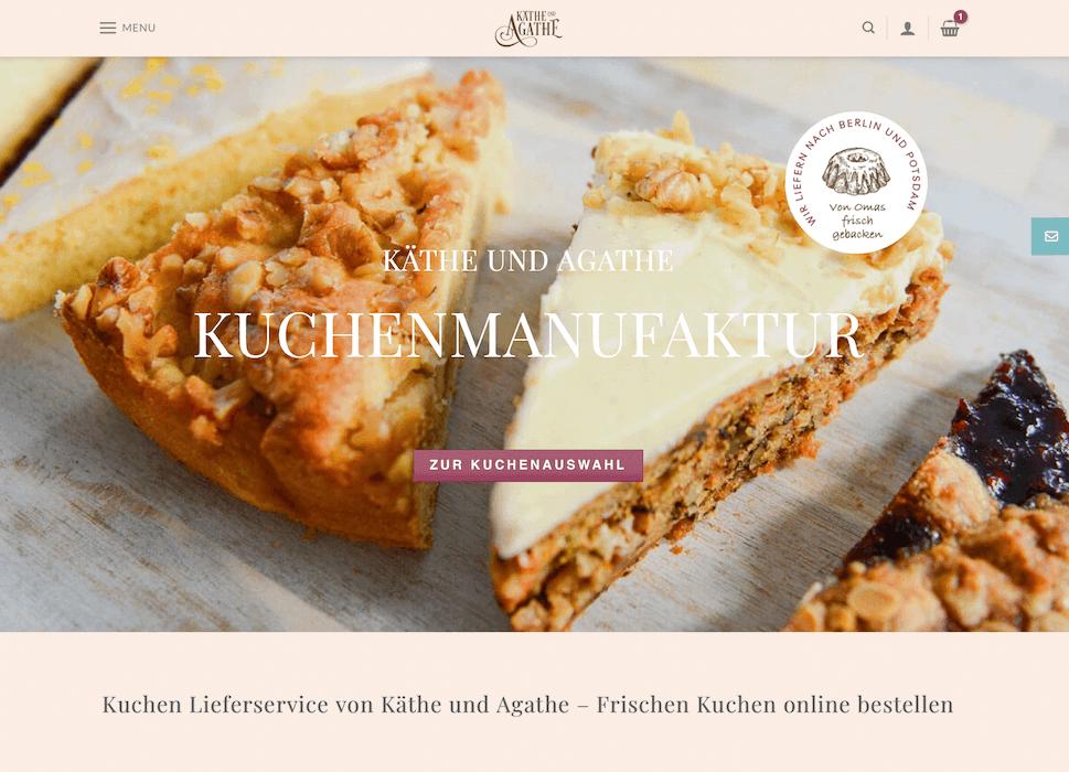 Wordpress Onlineshop von Käthe und Agathe